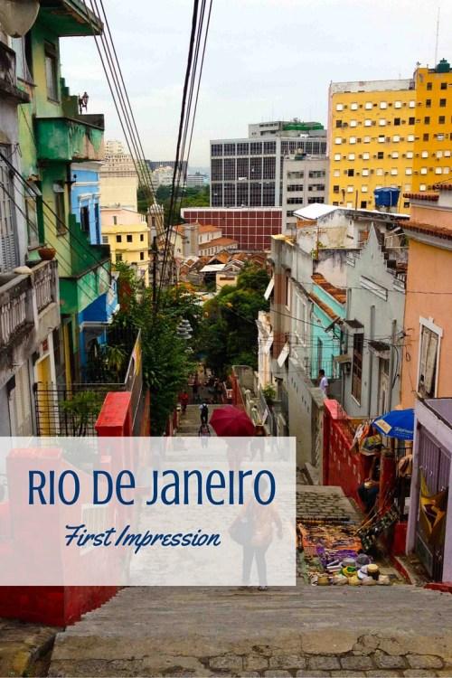 Rio de Janeiro - First Impression