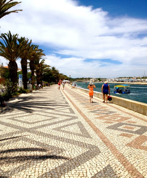 Lagos, in Algarve. A good place to relax in Portugal.