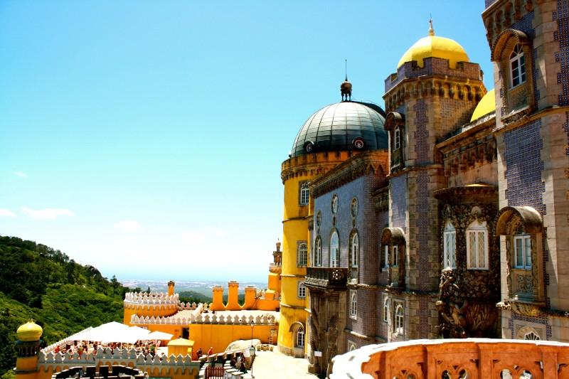 Palacio da Pena. Sintra, Portugal