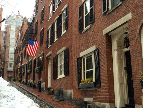 Beacon Hill in Boston