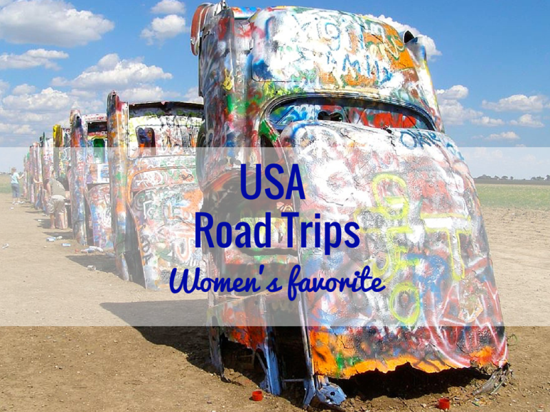 Best USA Road Trips according to Women