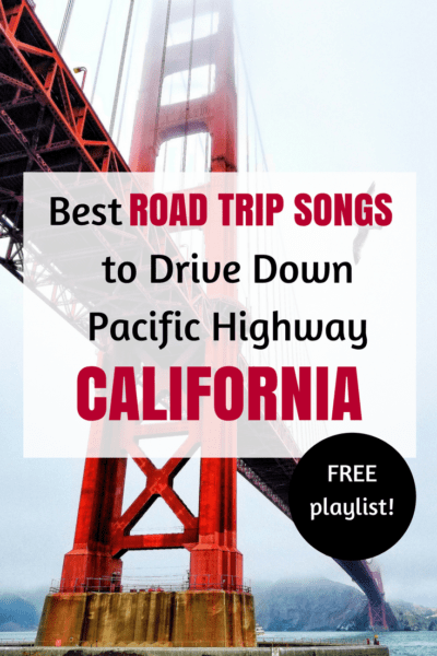 FREE Playlist with the best songs for a road trip in California! #USA #Roadtrip #California #SanFrancisco #LosAngeles #travel #drive