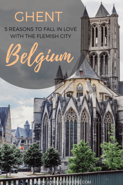 I can't thank enough people of recommended me to go to the Flemish city of Ghent. His street art, food and culture kept me busy all day! #Belgium #Ghent #Belgique #Travel #eurotrip