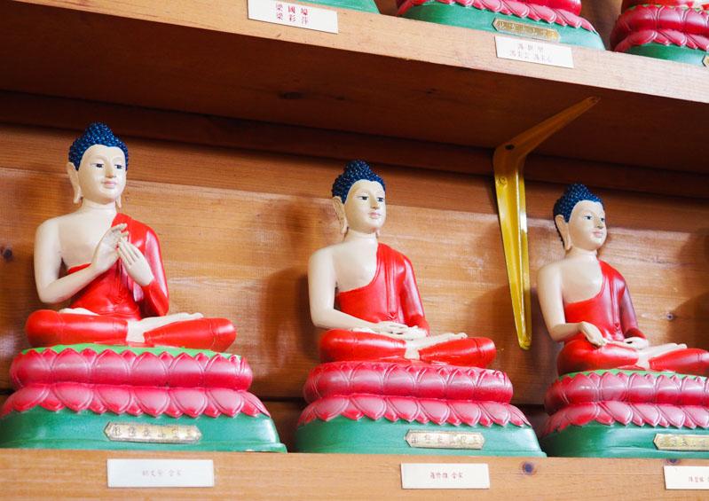 1000 Bouddha statues