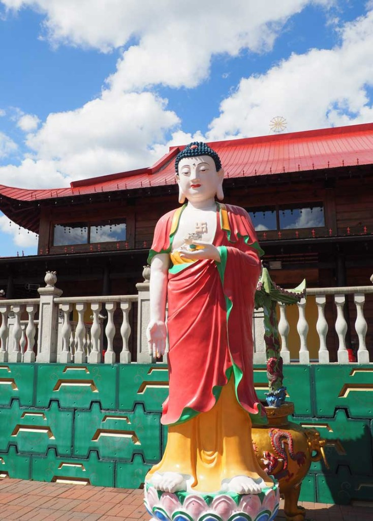 Buddhist Temple in Quebec