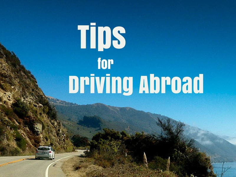 Tips for driving abroad