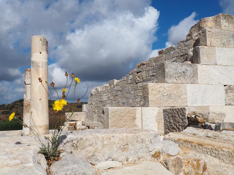 Temple of Dimitri, Naxos, Greece