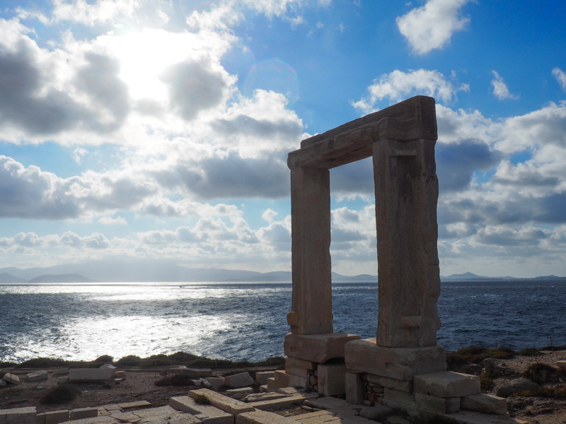 Temple of Apollo, Naxos, Greece