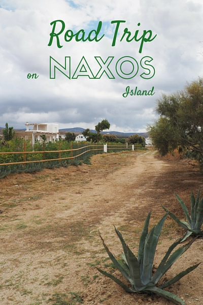 Road Trip On Naxos Island