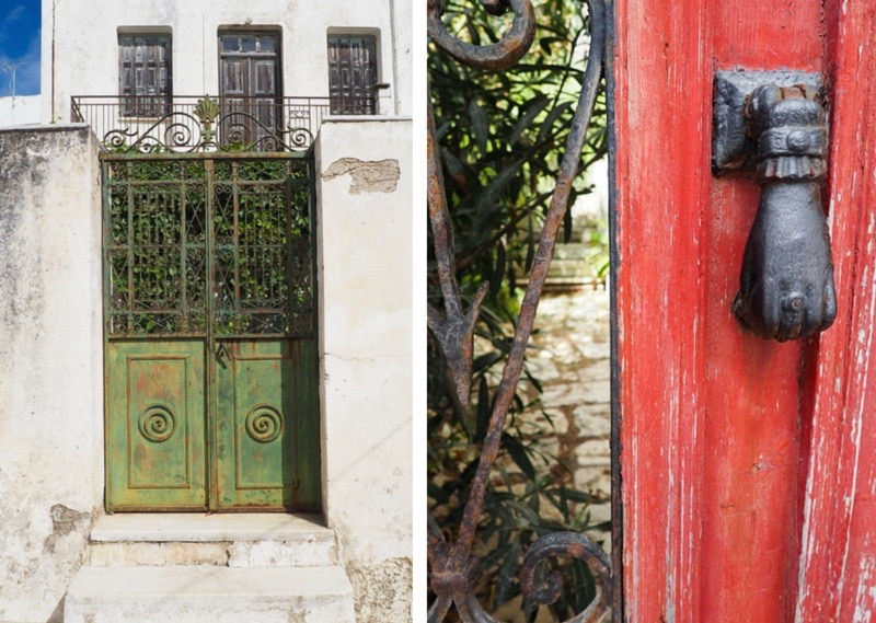 Doors in Apiranthos, Naxos