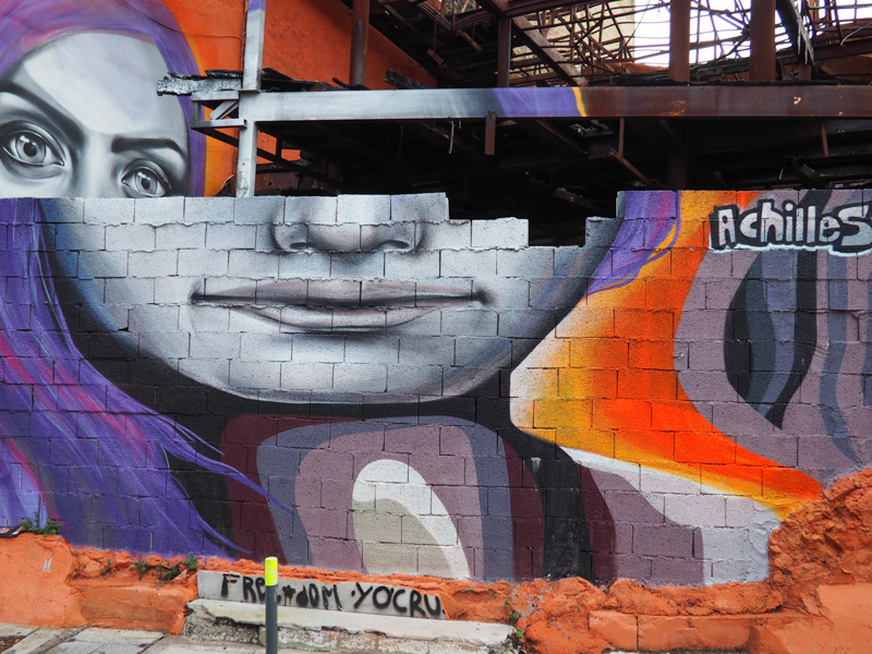 Street Art Scene in Athens