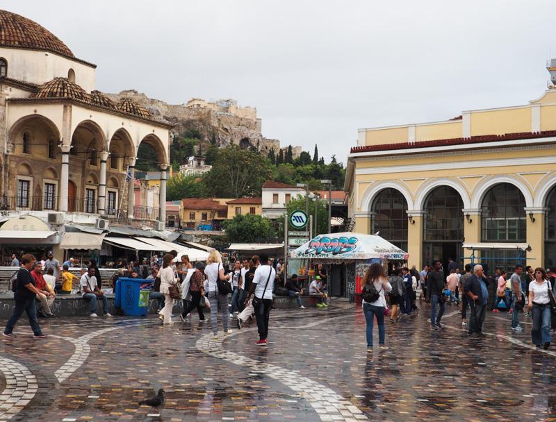Athens Insiders, Monastiraki Square
