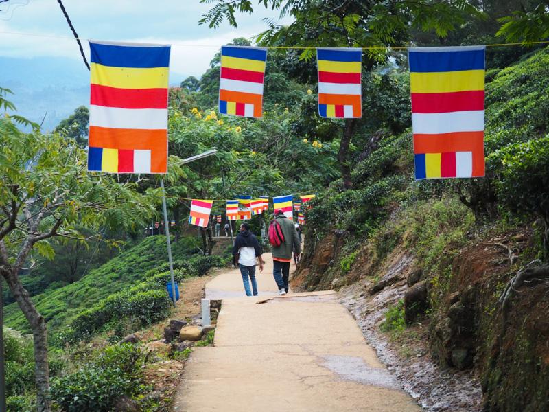 Pic d'Adam, Sri Pada, au Sri Lanka