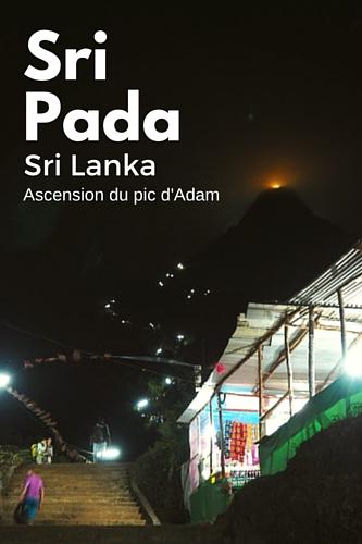 L'ascension du pic d'Adam au Sri Lanka est l'un des plus grands défis que j'ai relevés. Au-delà de l'effort physique, c'est l'effort mental que cela demande qui m'a le plus surprise. #Srilanka #SriPada #picAdam #Asie #voyage #voyagevoyage