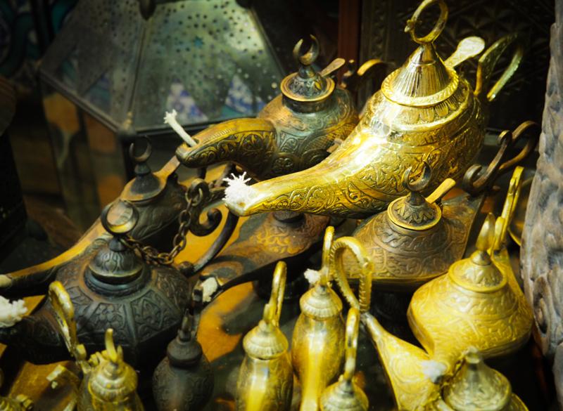 Lampe de génie à Istanbul
