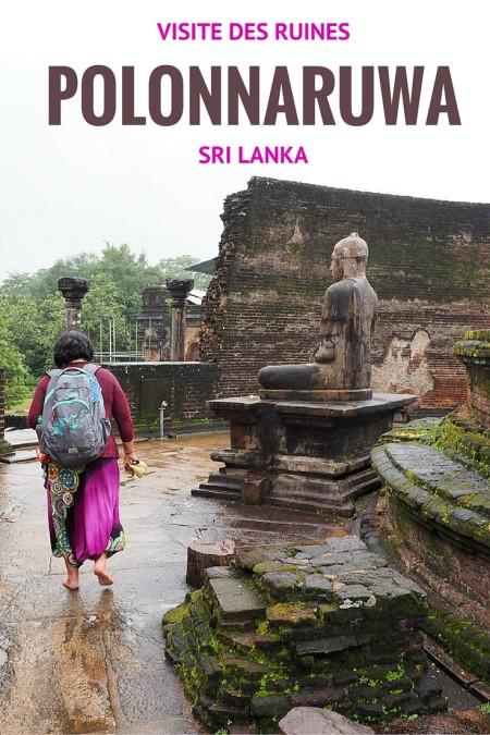 Une visite de Polonnaruwa, beaeu temps, mauvais temps, est un must lors de votre voyage au Sri Lanka.