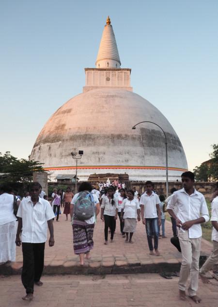 Visite du site d'Anuradhapura