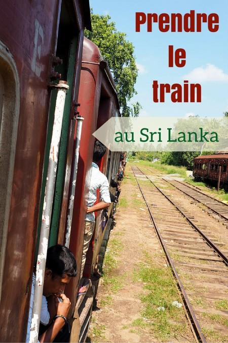 Histoires de train au Sri Lanka, dont la réputation des trajets n'est plus à faire.