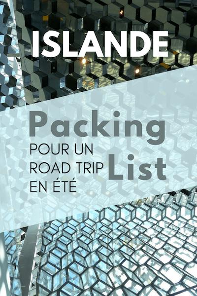 C'est un vrai casse-tête de faire ses valises pour un voyage en Islande. Voici une packing liste complète pour vous simplifier la vie avec tout ce que vous devez emporter pour voyager léger et efficacement. #Islande #packinglist #voyagerleger #voyager
