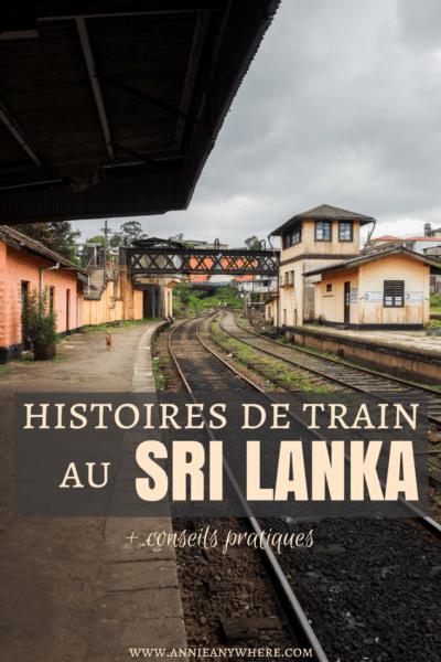 Quatre histoires de train au Sri Lanka pour vous faire découvrir la beauté du peuple sri lankais + conseils pratiques pour prendre le train dans ce pays d'Asie! #train #Srilanka #Asie #voyage #voyagevoyage