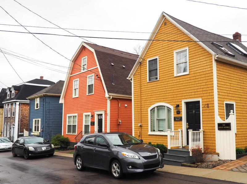 Rue Queen de Charlottetown