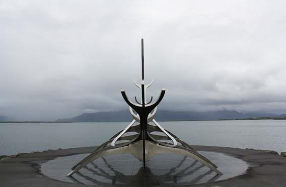 Itinérare en Islande - Solfar Sun Voyager