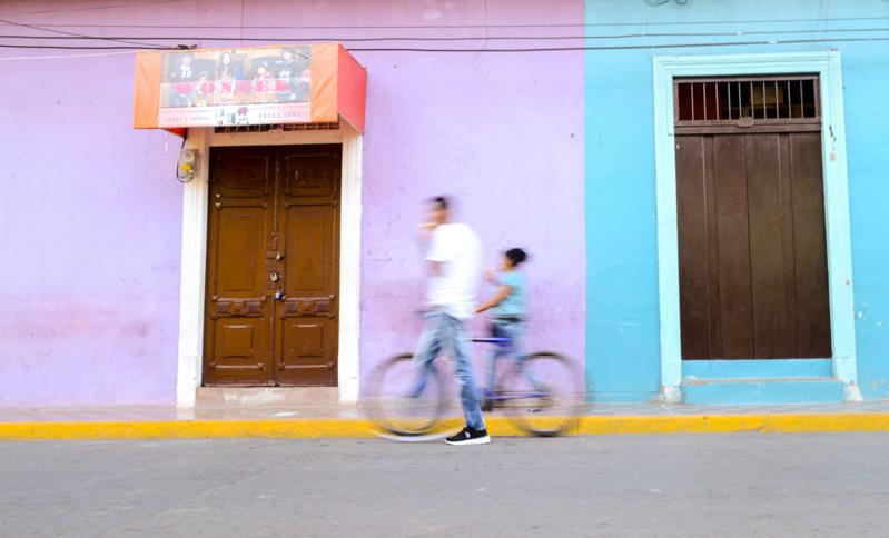 Rues de Granada au Nicaragua, toujours colorées et intéressantes à découvrir.