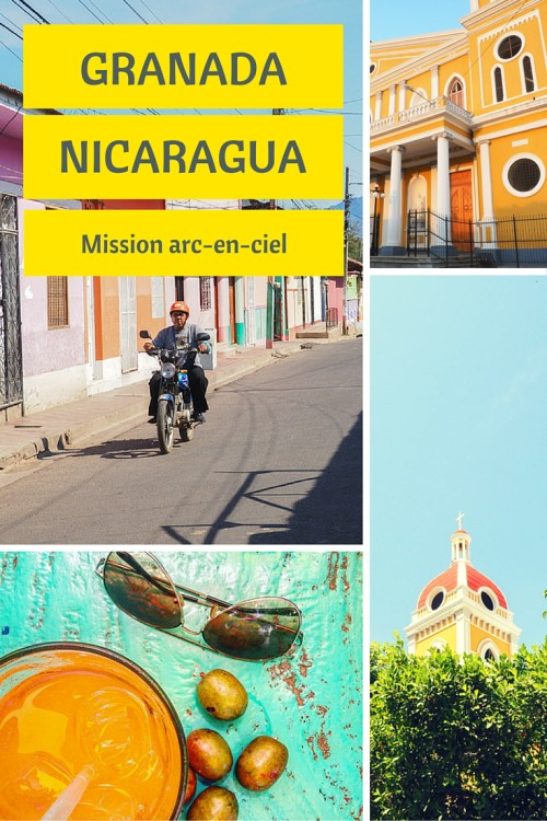 Une façon d'explorer la ville de Granada au Nicaragua, c'est de vous laisser guider par les façades colorées de cette ville coloniale.