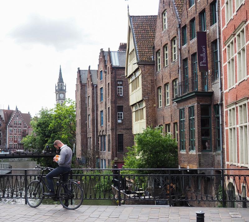 Faire du vélo à Gand
