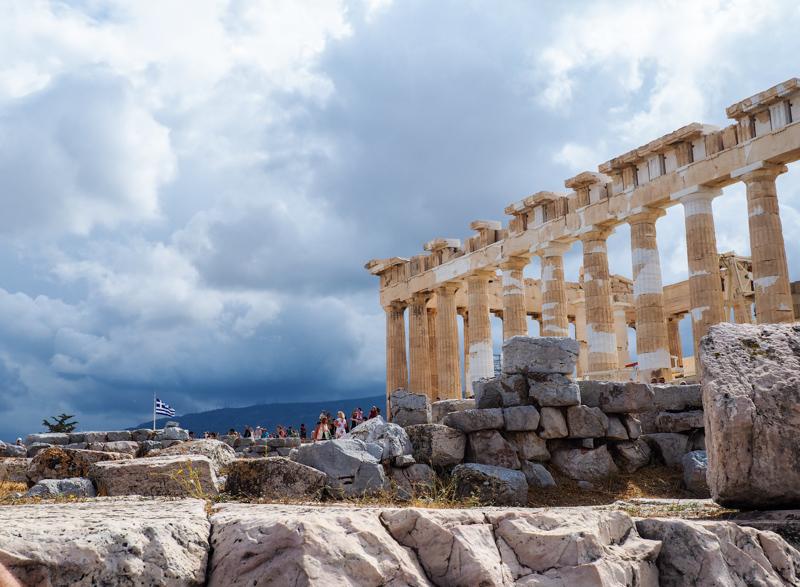 Acropole en Grece