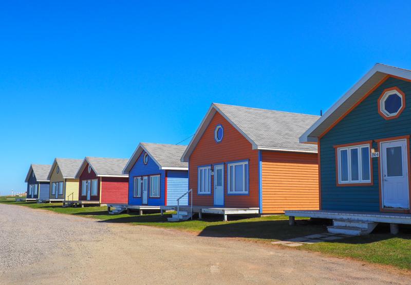 Maisons aux îles de la Madeleine