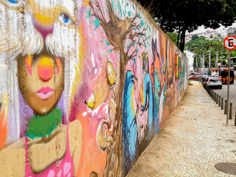 Street Art dans Lapa