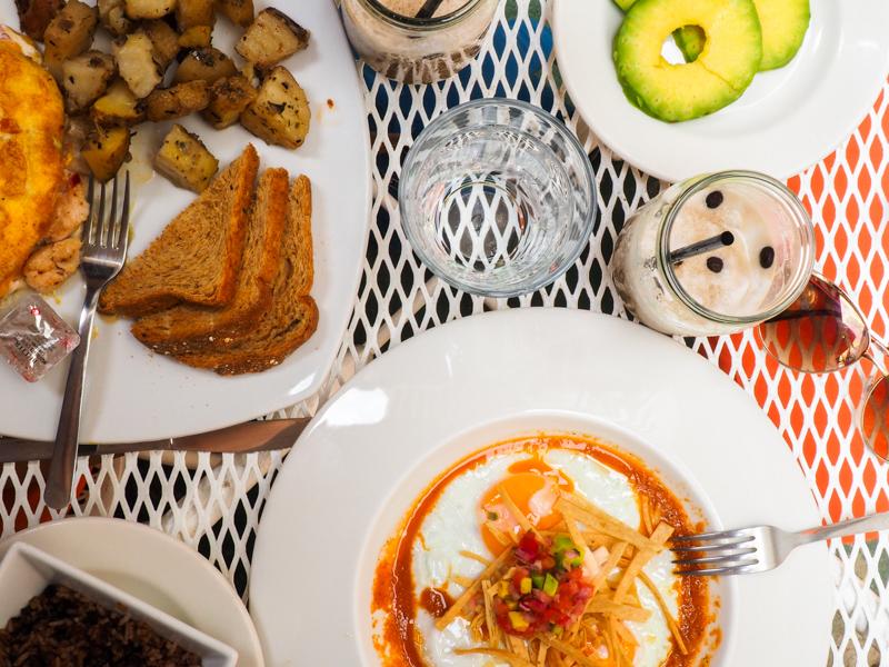 Déjeuner à San Juan del Sur
