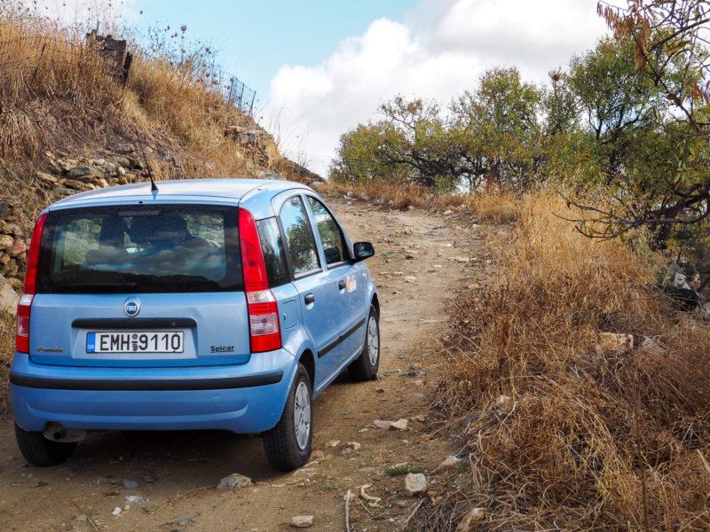 Road Trip sur l'île de Naxos