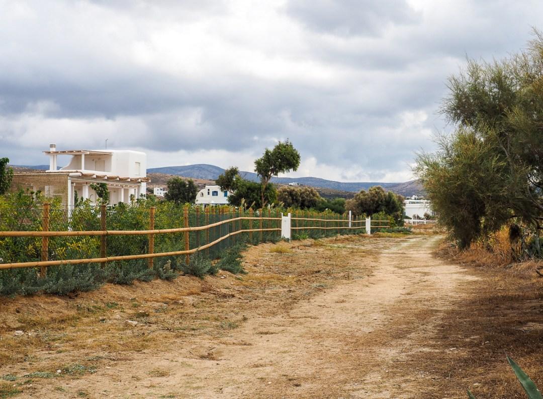 Routes de l'île de Naxos