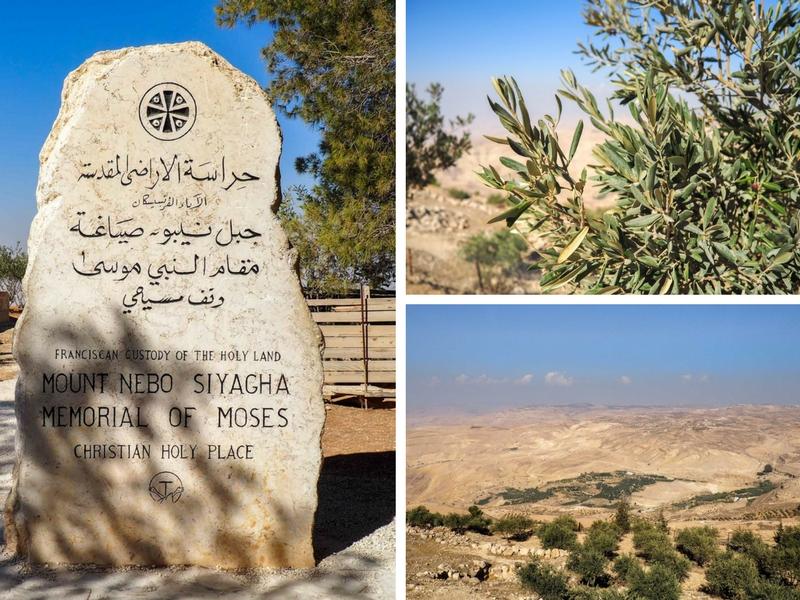 Paysages du Mont Nebo en Jordanie