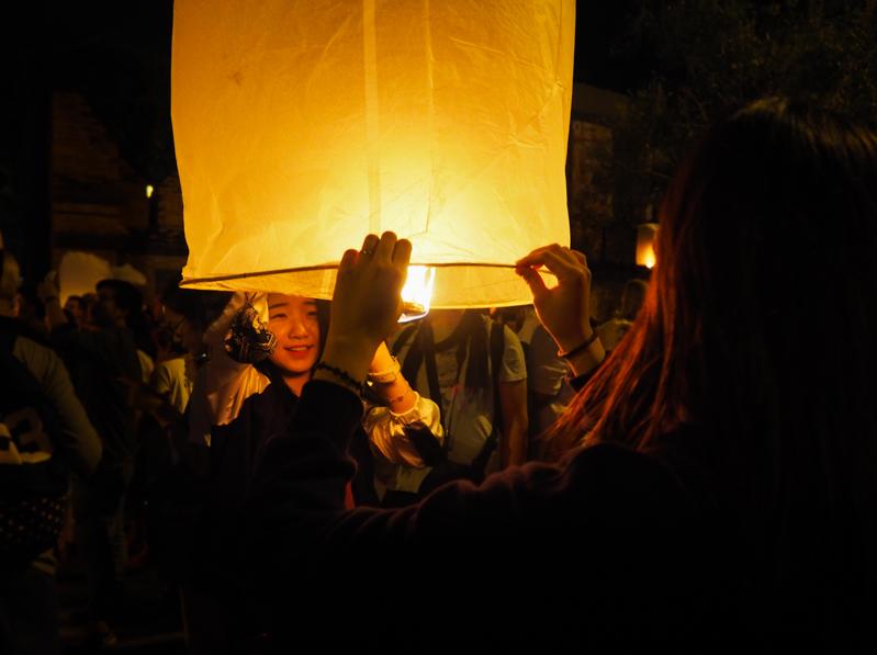 Festival des lanternes de Chiang Mai.