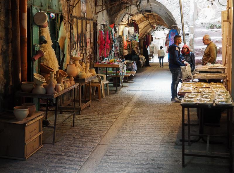 Marché palestinien à Hebron