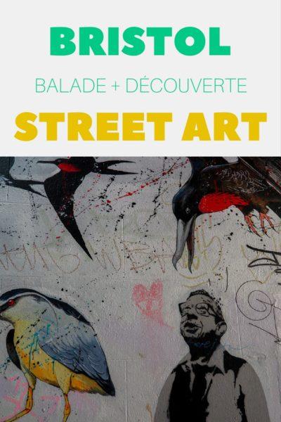 Circuit pour découvrir le Street Art de Bristol. Ville connue grâce à Banksy et Massive Attack.