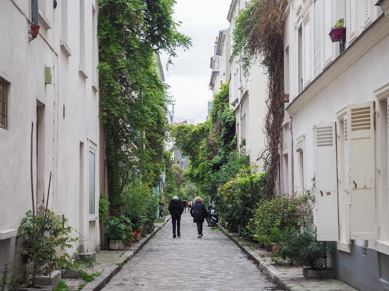 Ruelle de Paris.