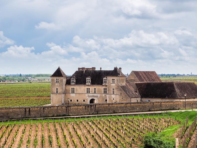 Maison de style château croisé sur la Route des Grands Crus.