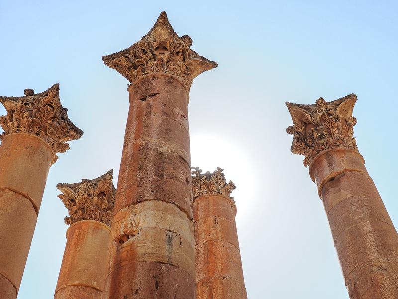 Colonnes à Jerash