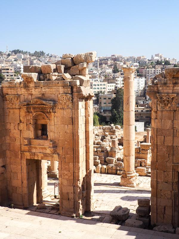 Jerash, arrêt obligatoire lors d'un voyage en Jordanie.