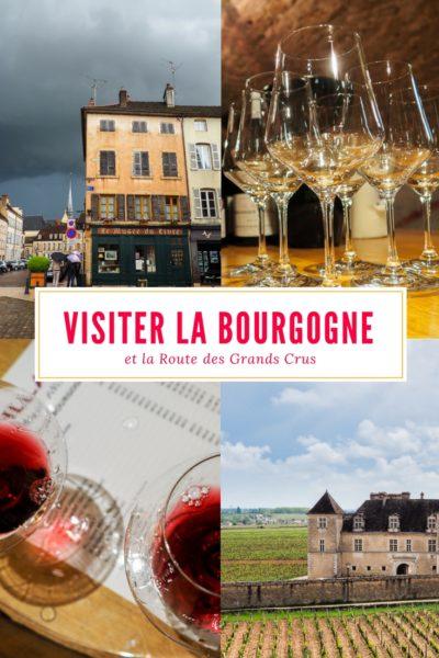 Visiter la Bourgogne et explorer la Route des Grands Crus. Dégustations de vins et fromages sont au menu!