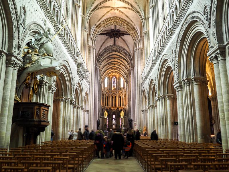 Cathédrale de Bayeux en Normandie.