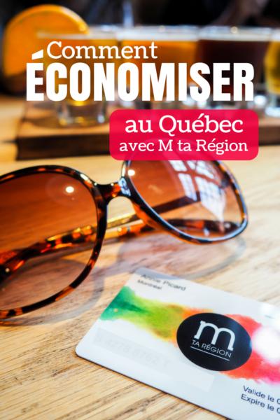 Comment économiser au Québec avec la carte M ta Région - Une carte qui permet d'obtenir des rabais dans les entreprises locales dans plus de 8 régions du Québec.