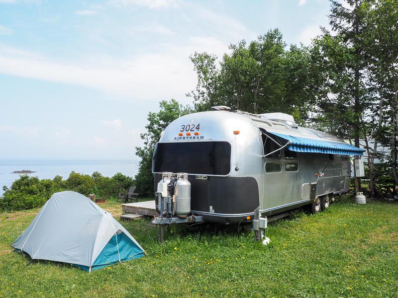 Camping en Airstream à Petit-Rocher