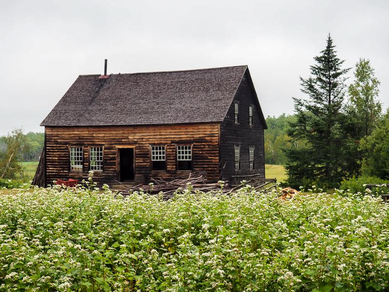 Maison au village acadien de Caraquet