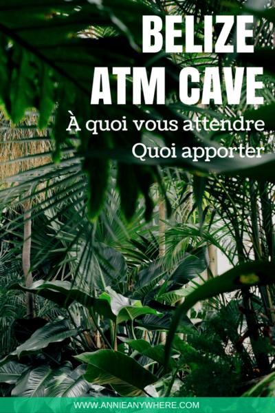 Visiter la grotte sacrée d'Actun Tunichil Muknal, connue sous le nom d'ATM Cave, est un incontournable lors d'un voyage au Belize. Voici ce que vous devez savoir avant de vous y aventurer. #belize #voyage #voyagevoyage #Ameriquecentrale #randonnée
