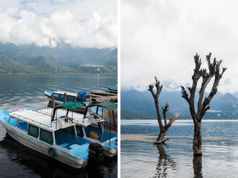 Vue du Lac Atitlan au Guatemala